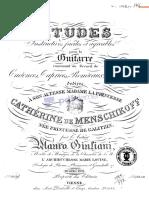 IMSLP43779-PMLP93234-Giuliani - 24 Etudes Op.100 -Copy