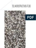 Carbon Steel Microstructure at 200x
