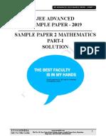 jee advanced sample paper2