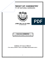 Syllabus of b.sc hons  chemistry in jmi