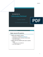 Lucene Lecture