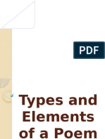 28REPORT29Types and Elements of a Poem