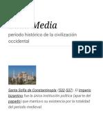 Edad Media - Wikipedia, La Enciclopedia Libre