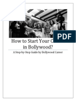 How to Start Your Career in Bollywood - A Step-By-Step Guide