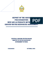 Report_GW Assessment Methods