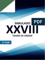 3º Simulado 2ª Fase Xxviii Administrativo