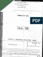 P.A. 78 - Pont à Poutres en Béton Armé