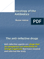 Pharmacology Powerpoint- Antibiotics