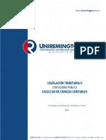 Legislación Tributaria II -2016