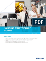 Samsung SMART Signage DCJ Series 190419 Web