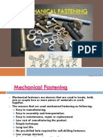 mechanical fastening