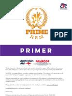 Prime Hrm Primer