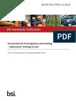 BS EN ISO 17892-12