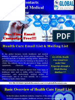 Global B2B Contacts Healthcare and Medical Email Database