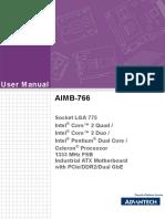 AIMB 766 Manual