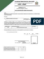 Formatos Proceso Cas Nro 02 -2019-Mpj