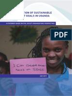 Uganda CSO Statement to 2019 HLPF (July 2019)