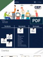 Presentación 02 PDF - Eventos y Roles de Scrum - UMA