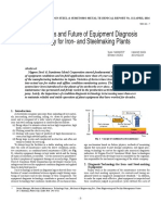 Documento a CeroPresent Status and Future of Equipment Diagnosis Technology for Iron- and Steelmaking Plants