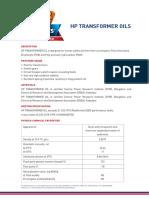 Hp Transformer Oils