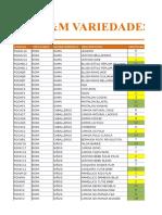 Ejercicio de Excel