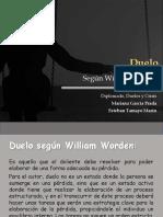Duelo, Según William Worden