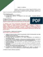 Resumen Final - Didactica