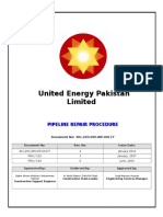 Pipeline Repair Procedure Final MR 050112