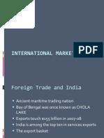 International Marketing - Trade
