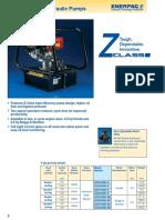 pump brochure for hydraulic machines