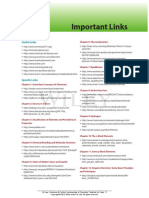 Important links for physical chemistry