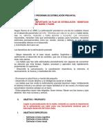 Modelo Programa de Estimulación Pre Natal 111