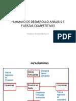 Formato de Desarrollo Análisis 5 Fuerzas Competitivas