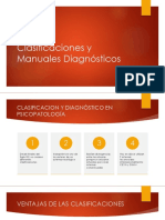 Clasificaciones y Manuales Diagnósticos