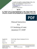 Poet h1470 Qtm Uv 1000p Manual