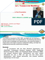Electrical Design Calculations of Residential Commercial Buildings 1
