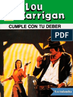 Cumple Con Tu Deber - Lou Carrigan