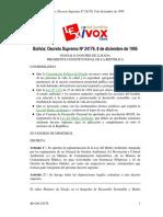 02 T2 2 Reglamento de La Ley Del Medio Ambiente BO-DS-24176