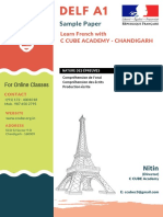 DELF A1 Sample Papers 2019 French Sample Papers
