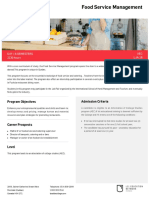 Aec Food Service Management Courses PdfBrochure En