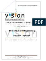 Civil Engineering Objective questions for government exams