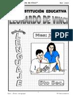 LENGUAJE LEONARDO DA VINCI