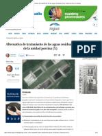 Alternativa de Tratamiento de Las Aguas Residuales de La Unidad Porcina (X) _ IAgua