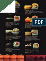 Mení Sushi Quinto Cocina