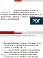 Application of Matrix Operations