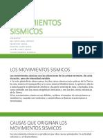 Movimientos Sismicos