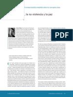 Mayor Federico Democracia No Violencia y Paz