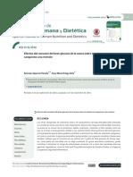 Efectos del consumo del beta-glucano de la avena sobre el colesterol sanguíneo