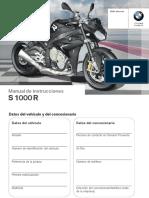 bmw S1000R manual propietario