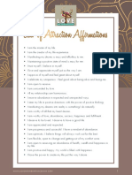 Law of Attraction Affirmations